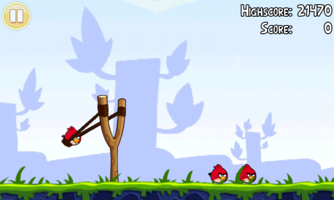Angry Birds: Low Tool/High Story. A good demonstration of tool/story elements overlapping.