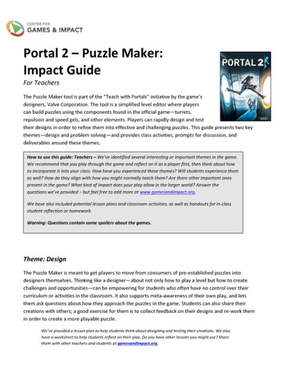 Portal - Impact Guide - Thumb